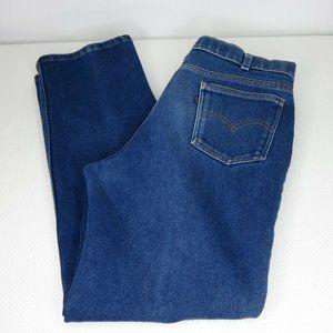1970s Vintage Levis Jeans 38 x 32 Med Wash Skosh